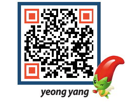 yeongyang tour QRCODE image(http://www.yyg.go.kr/tour/qyhgqh@)