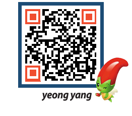 yeongyang tour QRCODE image(http://www.yyg.go.kr/tour/f5p2hp@)