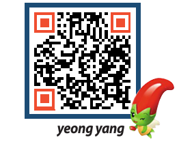 yeongyang tour QRCODE image(http://www.yyg.go.kr/tour/hieyuu@)
