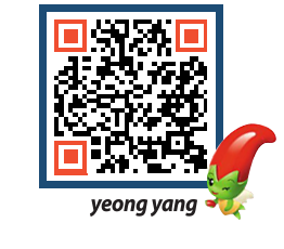 yeongyang tour QRCODE image(http://www.yyg.go.kr/tour/nc1yqh@)