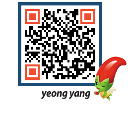 yeongyang tour QRCODE image(http://www.yyg.go.kr/tour/rusyxs@)