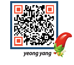 yeongyang tour QRCODE image(http://www.yyg.go.kr/tour/1zd135@)
